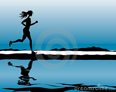 Sport & Fitness running woman