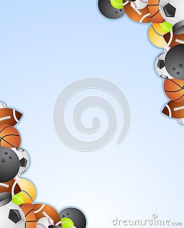 Sport Frame Stock Photos Image 10692193