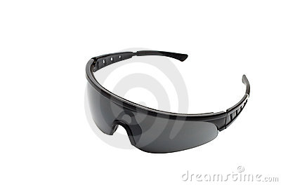 Sport glasses isolated on white