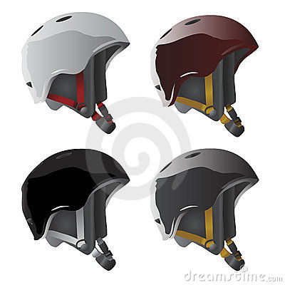 Sport helmet vector