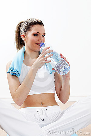 Royalty Free Stock Images: Sport hydration