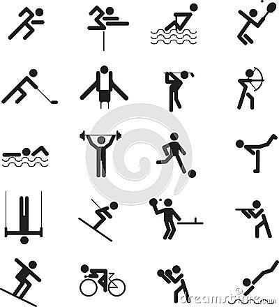 Free Sport Icon Set Stock Photography - 11804012