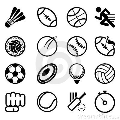 Free Sport Icon Set Stock Photos - 23527973