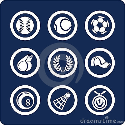 Free Sport Icons (set 11, Part 2) Stock Photos - 602573