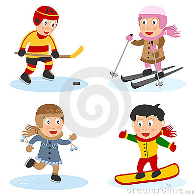 Free Sport Kids Collection [4] Royalty Free Stock Images - 17713459