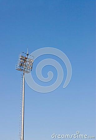 Sport light pole