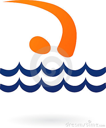 Sport  logo - swimming