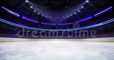 Entering The Ice Rink Of The Ice Hockey Stadium Stock Footage Video Of Championship Entering 143694140