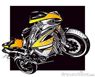 Sport motorbike