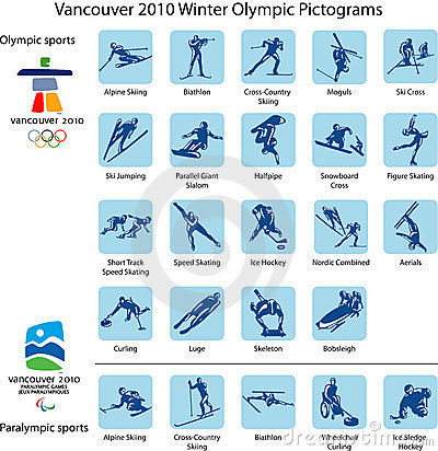 Free Sport Pictograms And Logos Royalty Free Stock Photos - 11671038