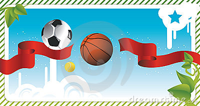 Sport postcard