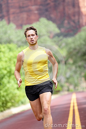 Sport - running fitness man