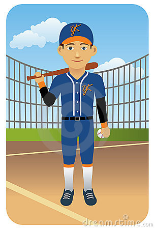 Sport series: Baseball player