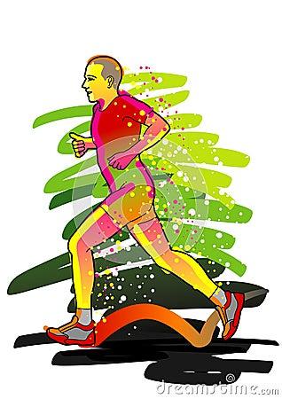 Sport series: Runner