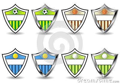 Sport shields set