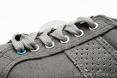 Sport Shoe Closeup