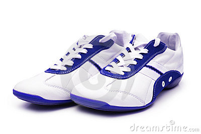Sport shoe isolated