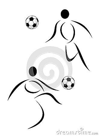 Sport soccer symbol