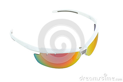 Sport sunglasses top view
