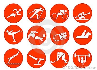 Sport Symbol Icons