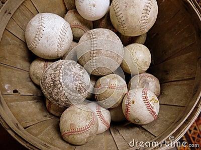 Sport: vintage baseball collection