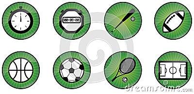 Sport web buttons