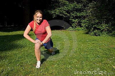 Sport and woman