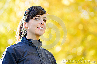 Sport woman portrait