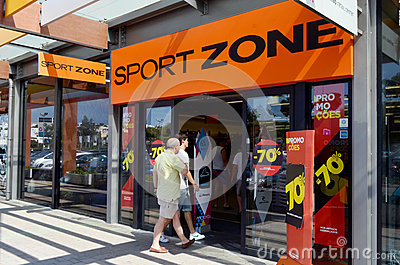 Sport Zone Editorial Stock Image