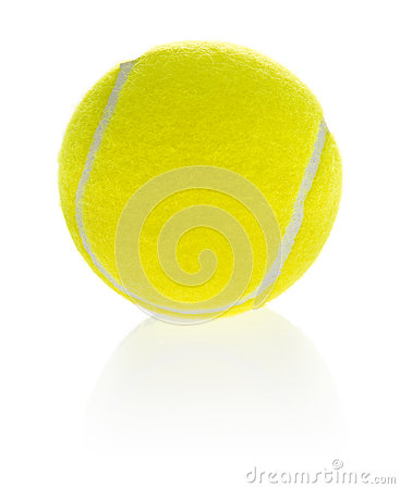 Sporting equipment: tennis ball
