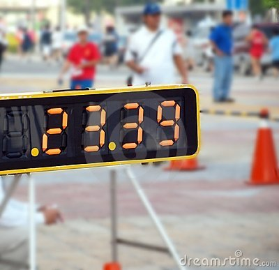 Sporting Event Timer
