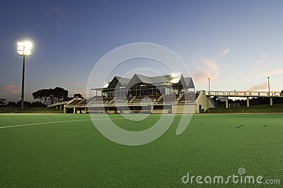 Sporting Field & Grandstand
