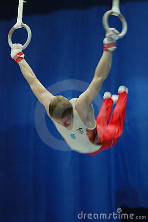 Sporting gymnastics Editorial Photo