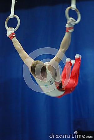 Sporting gymnastics Editorial Photo