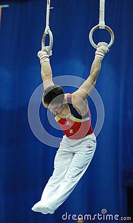 Sporting gymnastics Editorial Image