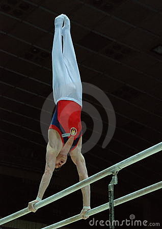 Sporting gymnastics Editorial Stock Image
