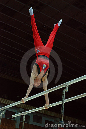 Sporting gymnastics Editorial Stock Image