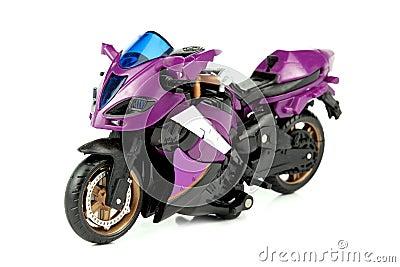 Sporting motor cycle