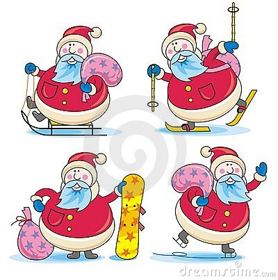 Sporting Santa
