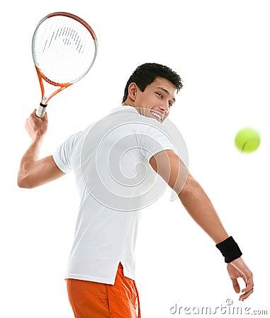 Sportive man