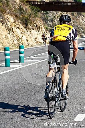 Sportowa triathlon Zdjęcie Editorial
