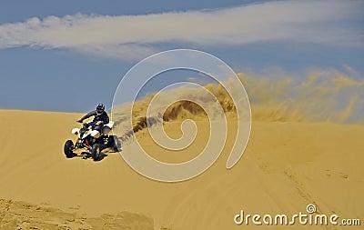 Sportquad in sand