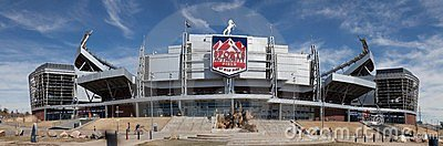 Sports Authority Field Editorial Stock Image