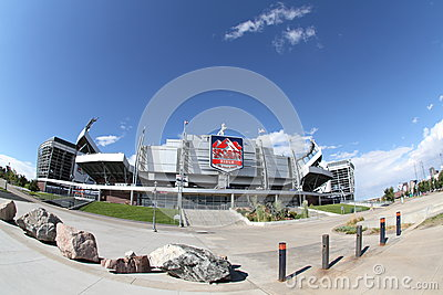 Sports Authority Field, Denver, Co Editorial Photography