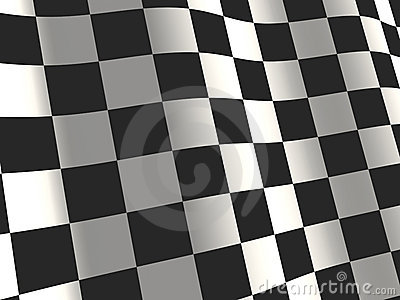 Sports background - an abstract checkered flag