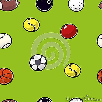 Sports Balls Repeat