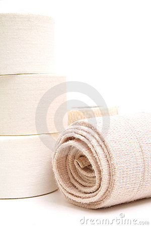 Free Sports Bandage & Tape Vertical Royalty Free Stock Images - 2354919