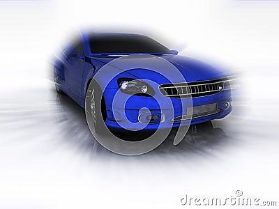 Sports blue far