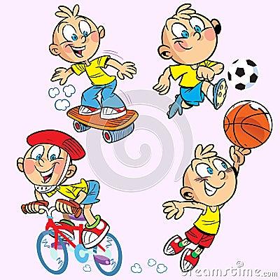 Sports boy