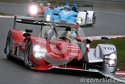 Sports Car,Audi R15 TDI(LMS) Editorial Image